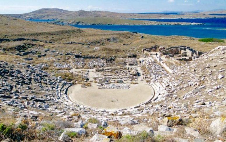 Insel Delos, Mykonos