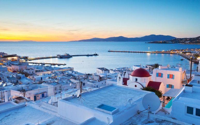 Sonnenuntergang Mykonos