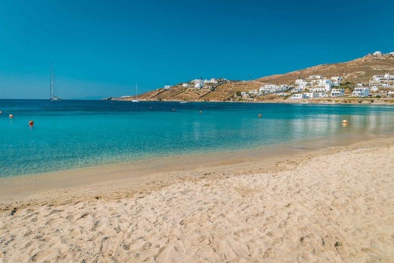 Ornos Beach, Mykonos